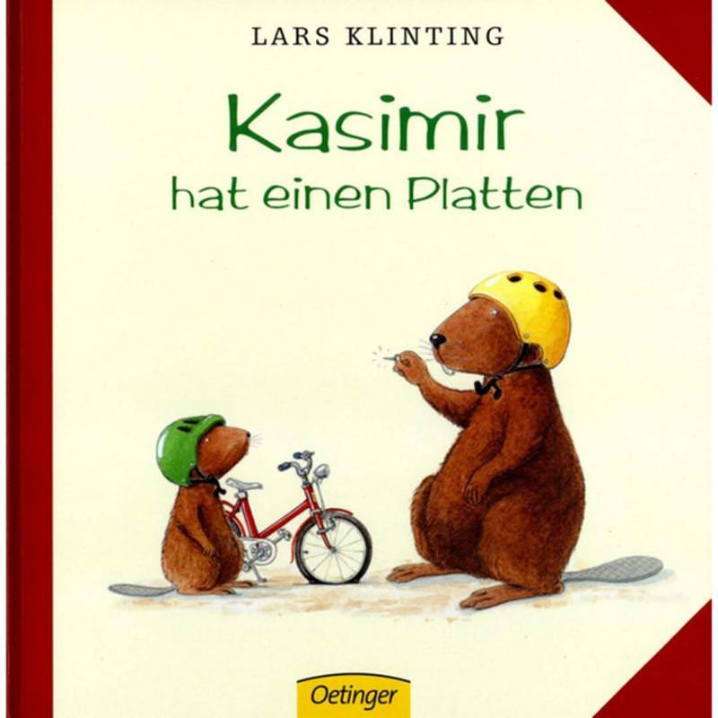 Buch Kasimir hat einen Platten
