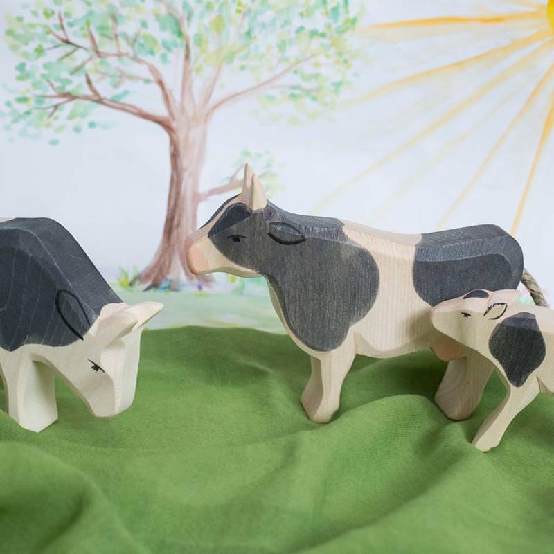 Kuh und Kälbchen