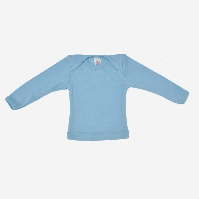 Schlupfhemd Wolle/Seide pastell