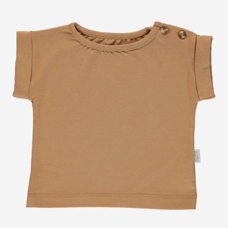 T-Shirt BOURRACHE brown sugar