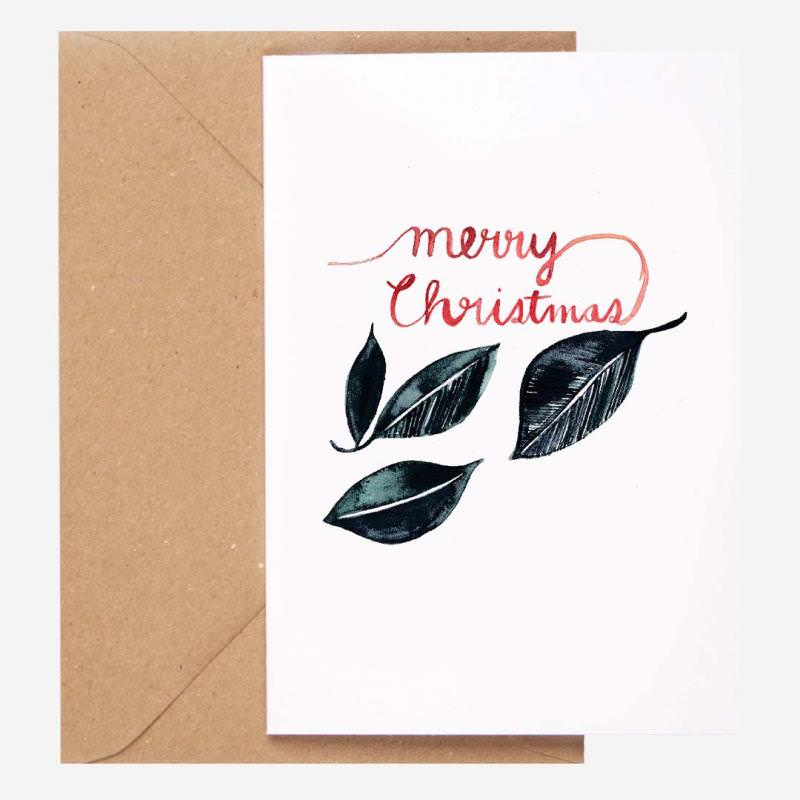 Klappkarte Merry Christmas