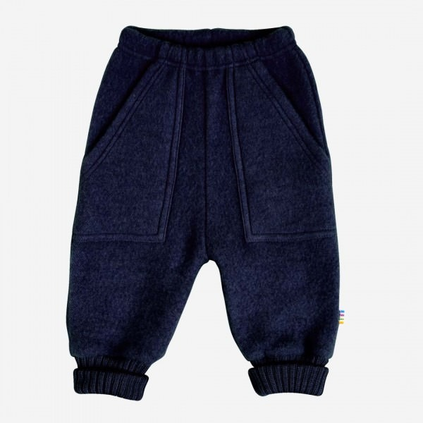 Baggy Pants Wollfleece navy melange