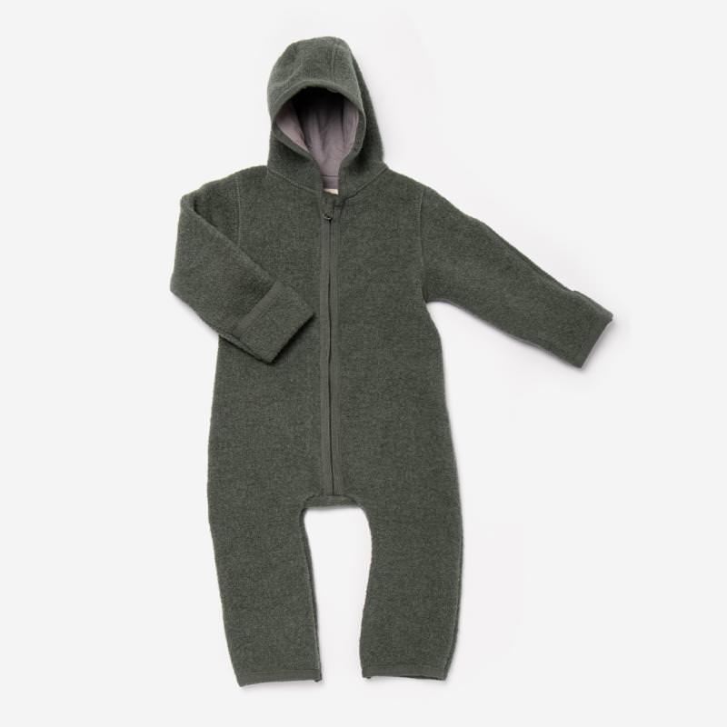 Baby Overall von Halfen aus Wollwalk in vomero olive