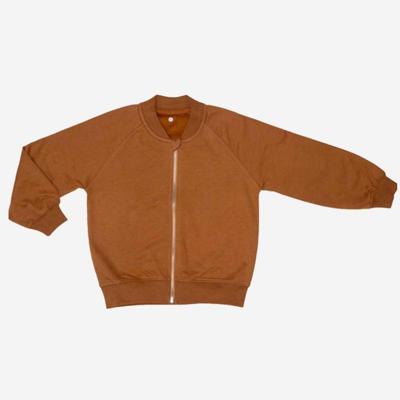Zip-it-up Sweater caramel cookie