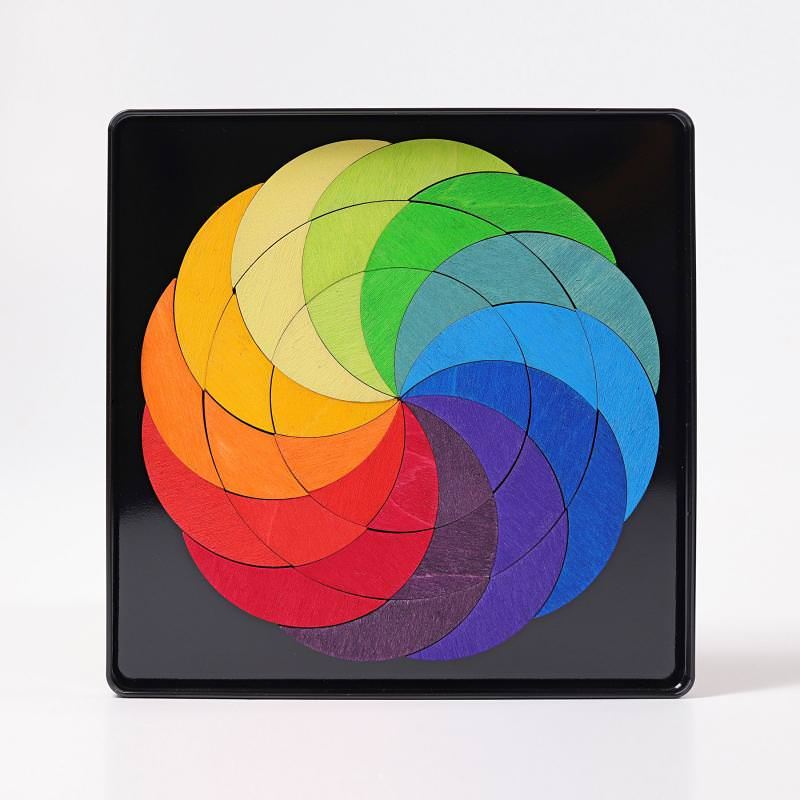Magnetspiel Regenbogenrad
