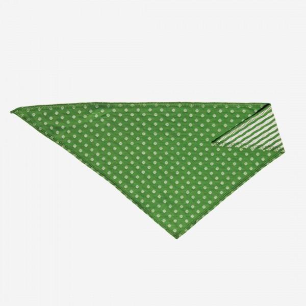 Dreieckstuch Punkte grün
