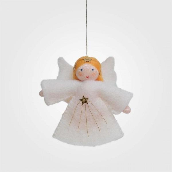 Filzpüppchen Engel blond hängend