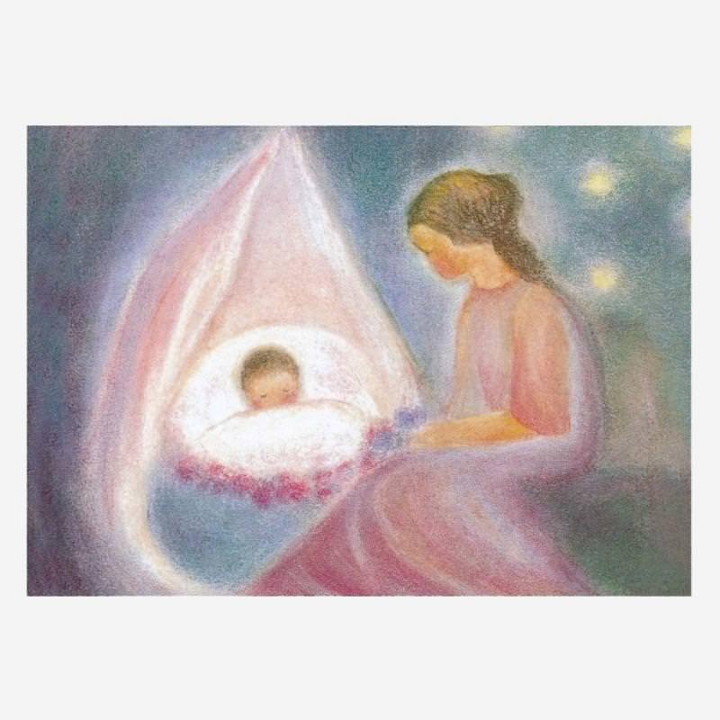 Postkarte Mutter von Ruth Elsässer