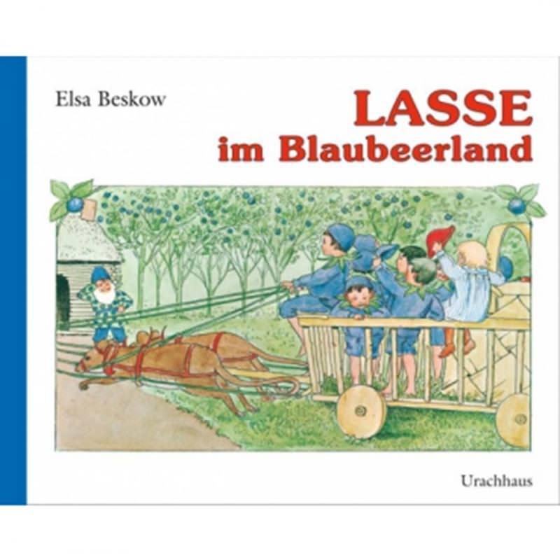 Buch Lasse im Blaubeerwald