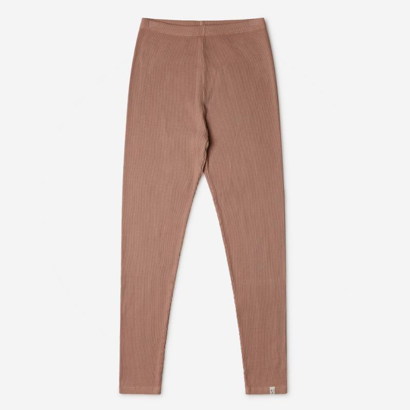 Damen Basic Pants Adult von Matona aus Bio-Baumwolle in terracotta