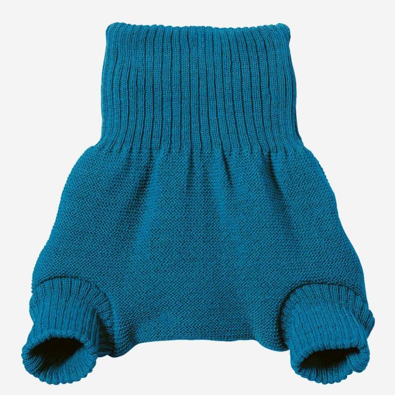 Baby Wollwindelhose von Disana in blau