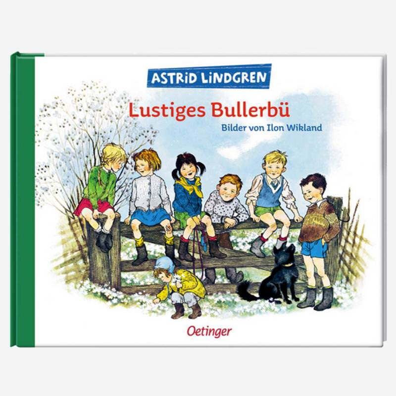 Buch Lustiges Bullerbü