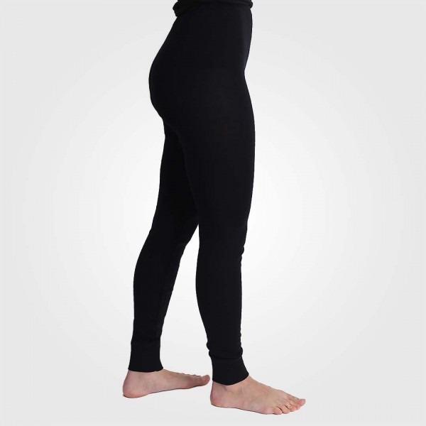 Lange Unterhose Damen schwarz