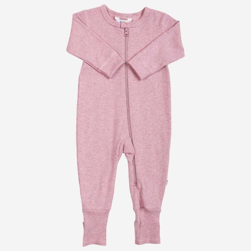 Jumpsuit Baumwolle rosa melange