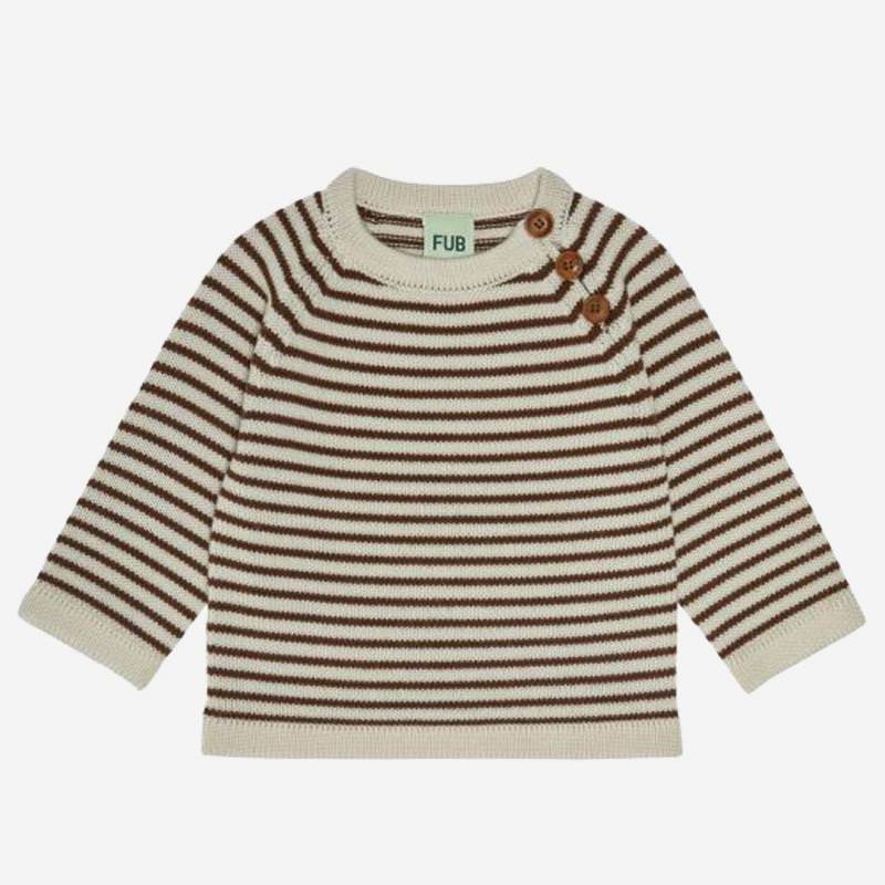 Baby Pullover Wolle stripe