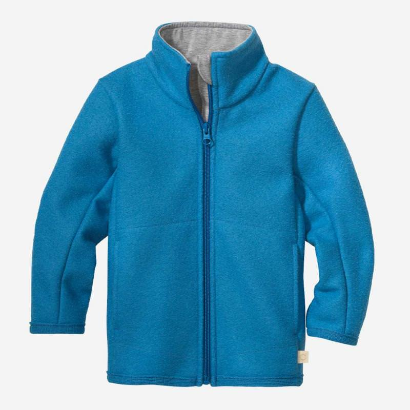 Zipper Jacke karibikblau