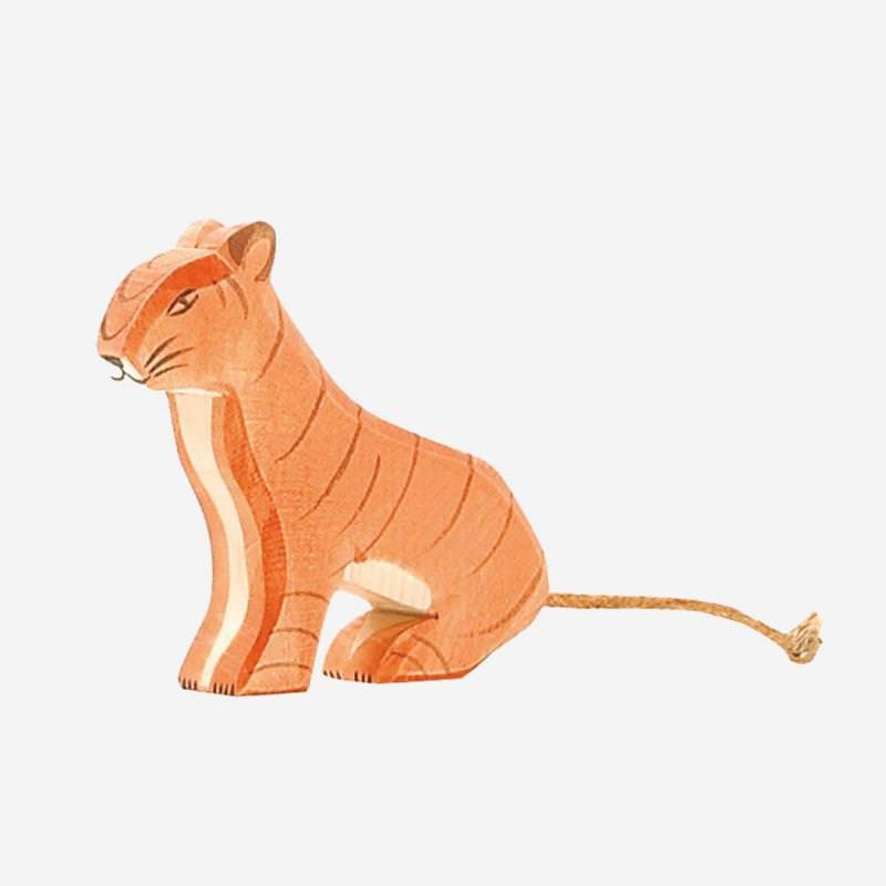 Tiger sitzend