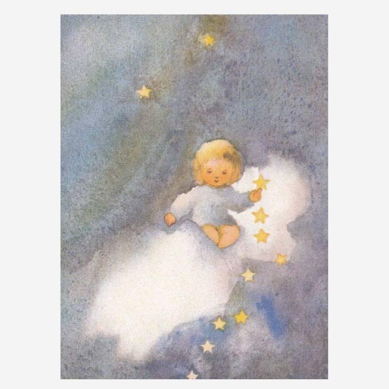 Postkarte Ehre sei Gott in der Höhe