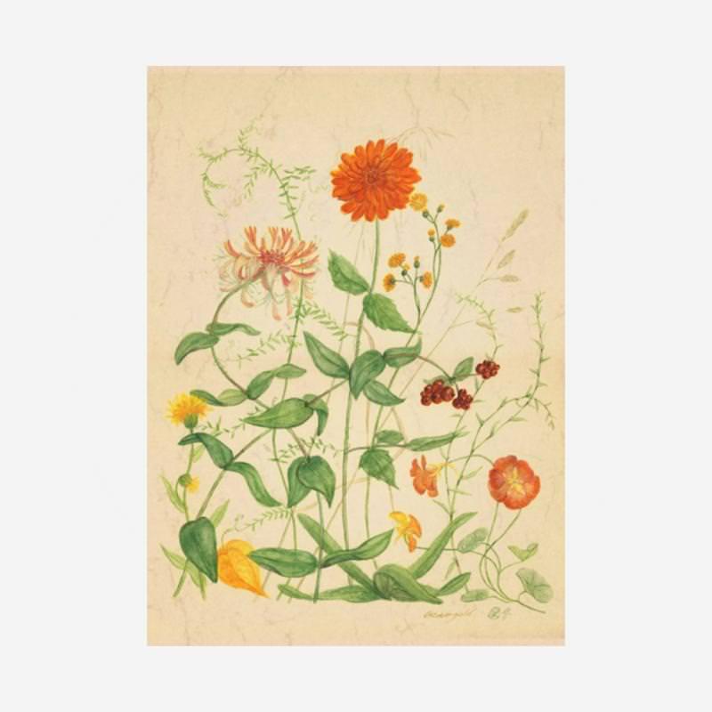 """Postkarte """"Oktobergold"""""""