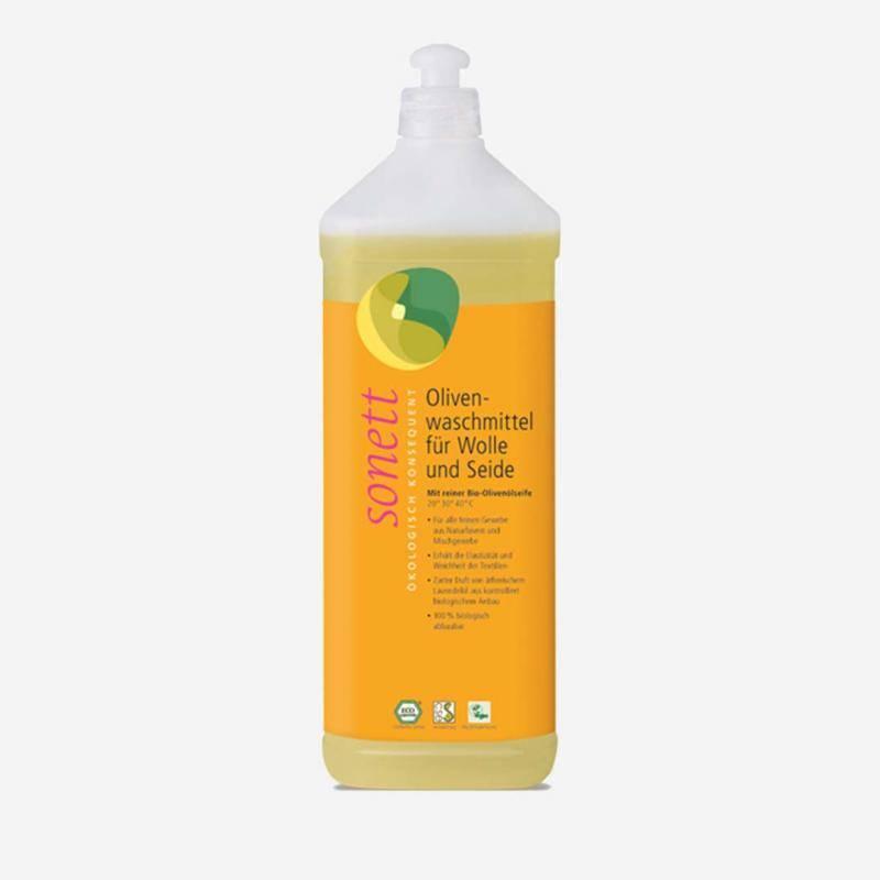 Olivenwaschmittel für Wolle und Seide