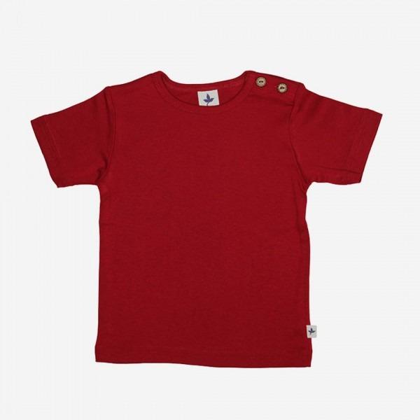 T-Shirt Baumwolle ziegelrot
