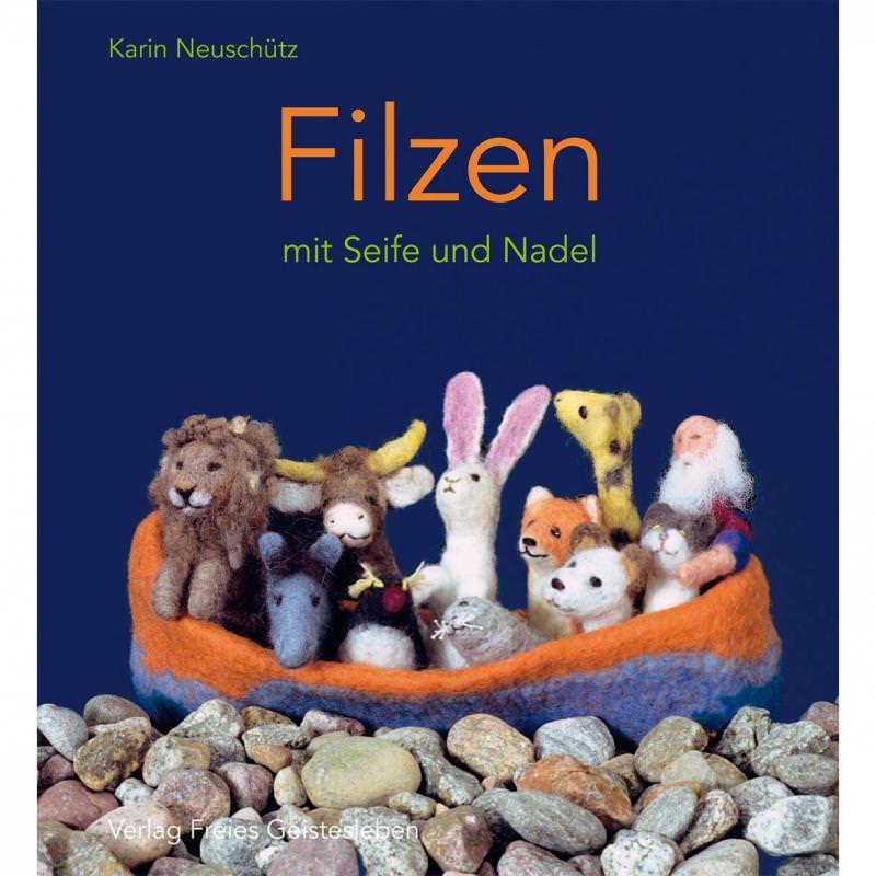 Buch Filzen mit Seife und Nadel