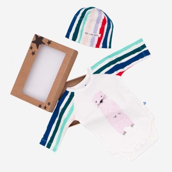 Baby Gift Box S Winter Stripes