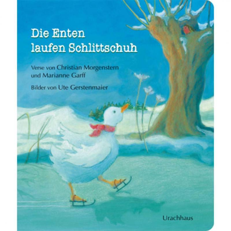 Pappbuch Die Enten laufen Schlittschuh