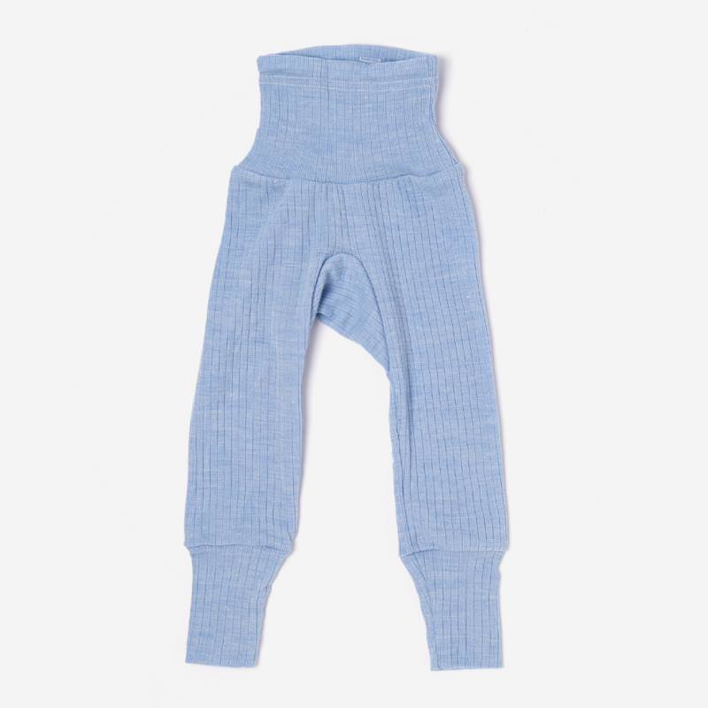 Babyhose Baumwolle/Wolle/Seide hellblau