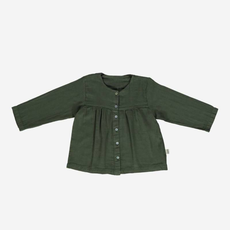 Blouse ROMARIN forest green