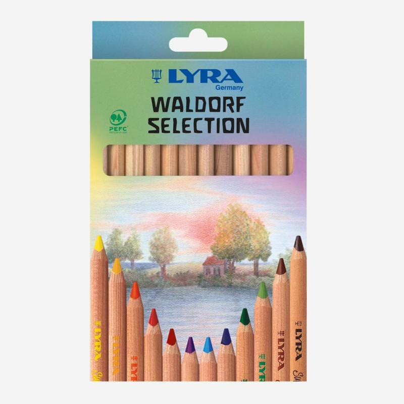 Buntstifte Super Ferby Waldorf Selection 12 Stück