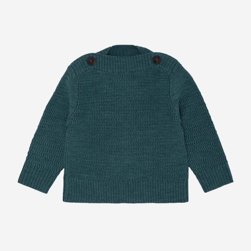Baby Pullover Bootshals emerald