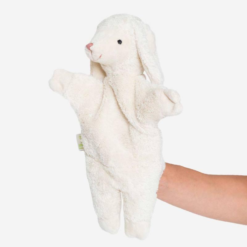 Handpuppe Schaf