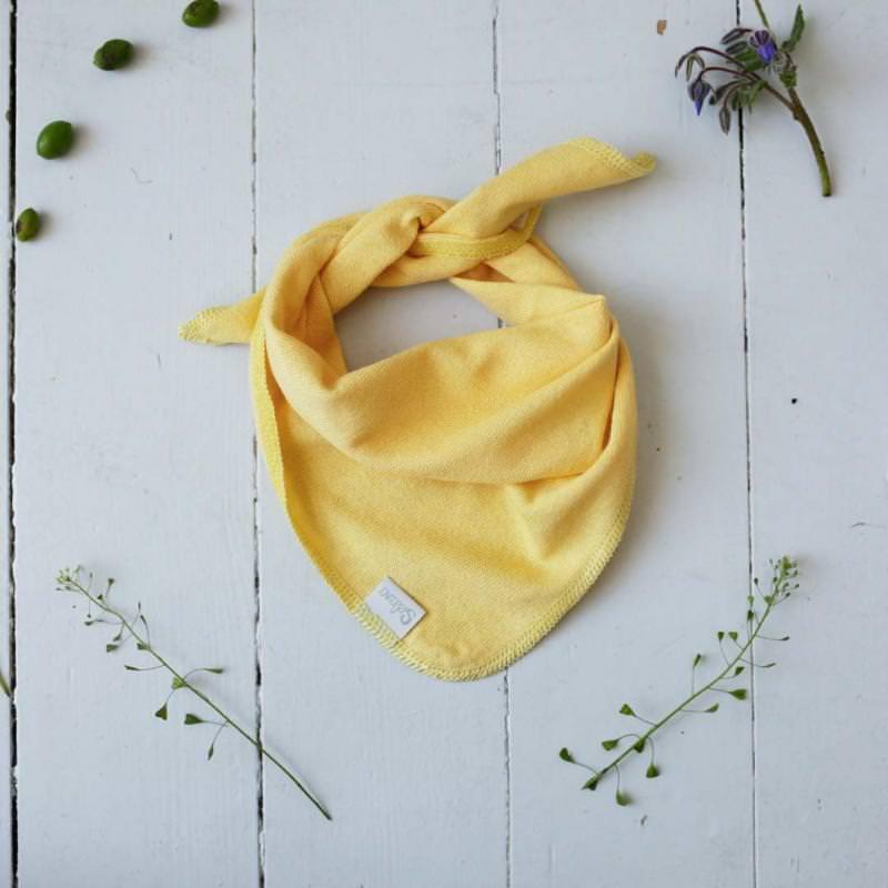 Baby Dreieckstuch von Selana aus Bio-Baumwolle sun