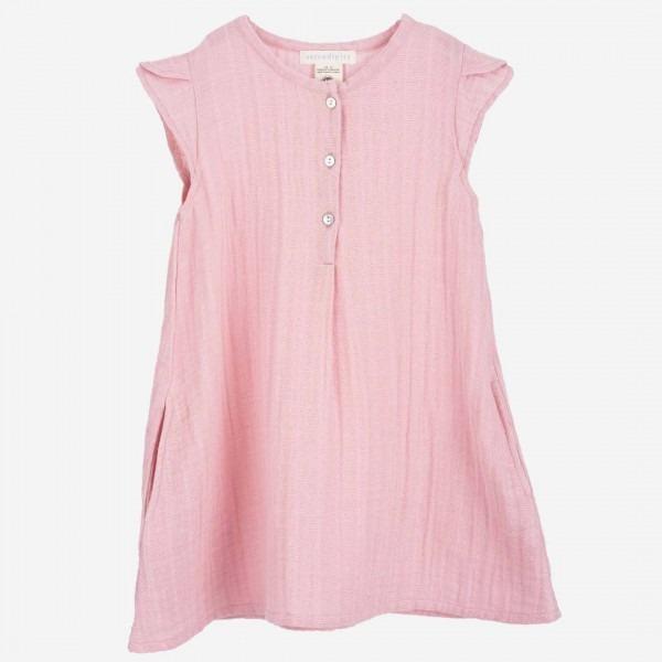 Muslin Kleid blush