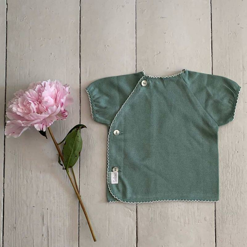 Schlüttli Baumwolle kurzarm green