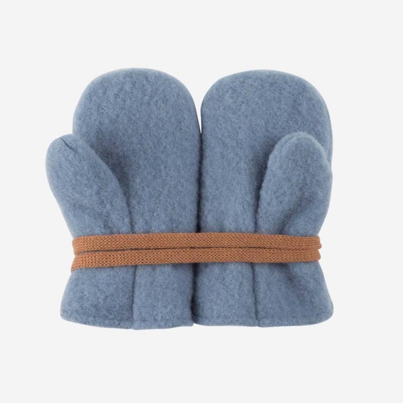 Baby Fäustel Fleece dusty blue