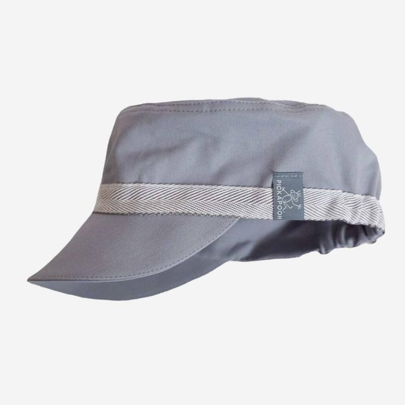 Schirmmütze Mika UV-Schutz hellgrau