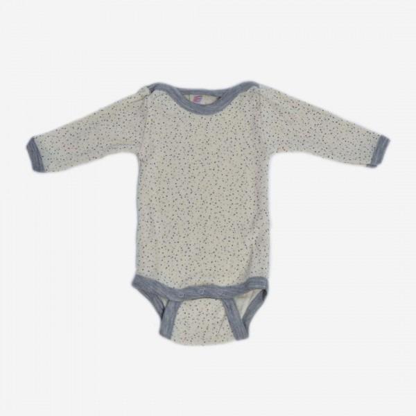 Baby Body Wolle/Seide Punkte