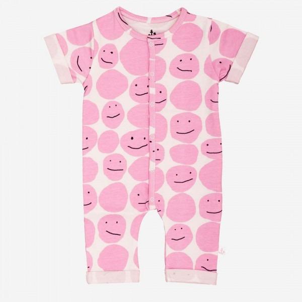 Harem Overall pink smiley