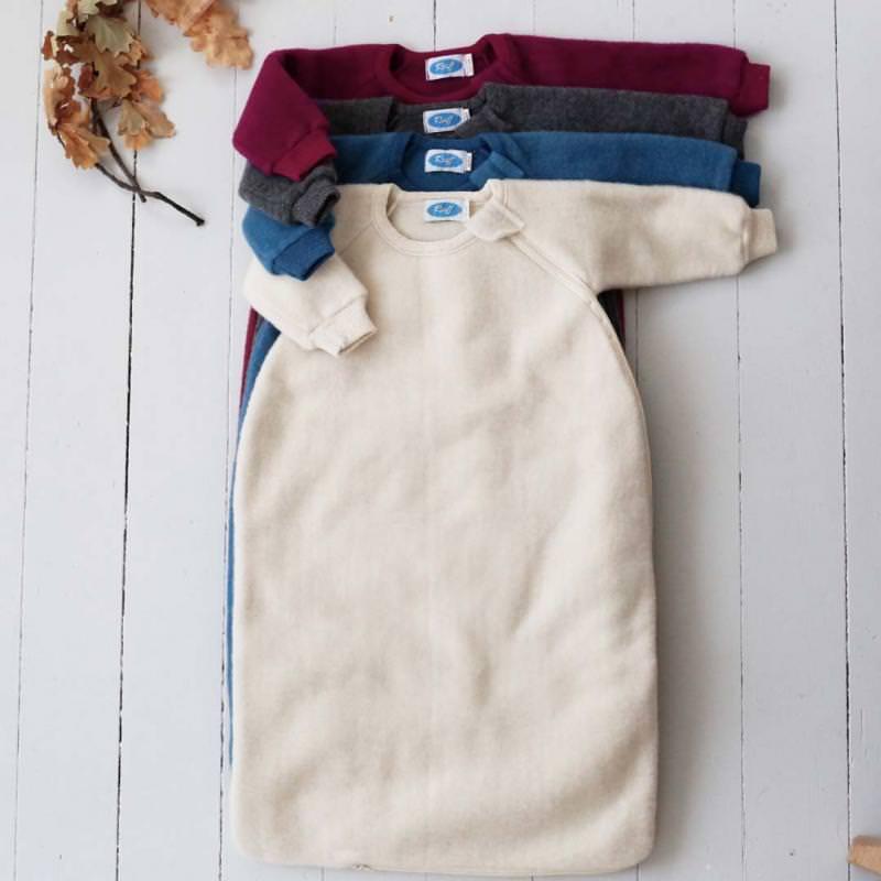 Schlafsack Wollfleece mit Arm