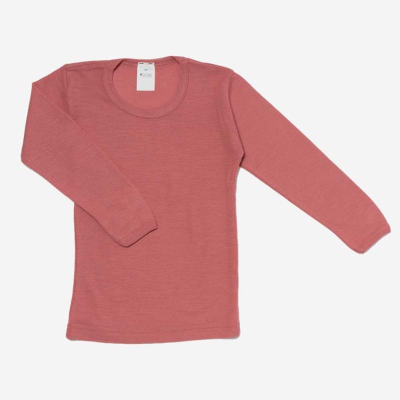 Unterhemd Wolle/Seide alt-rose