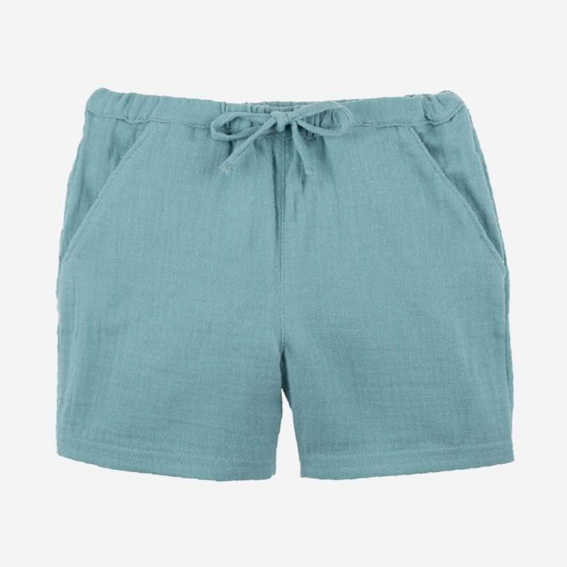 Musselin Shorts minty ice