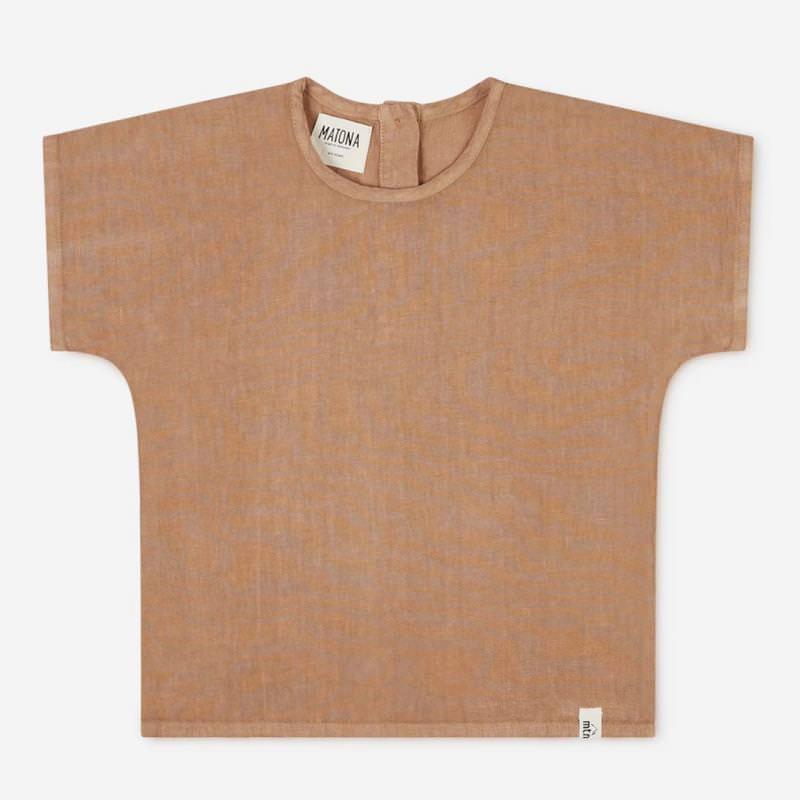 Arlo T-Shirt Leinen tan