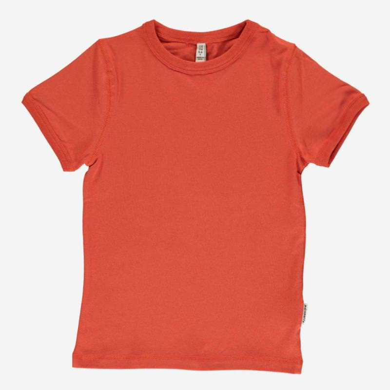 T-Shirt kurzarm rusty red