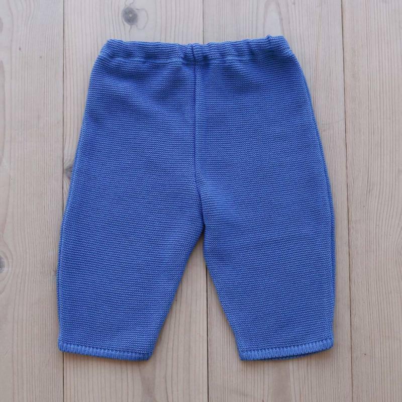 Babyhose Baumwolle blue