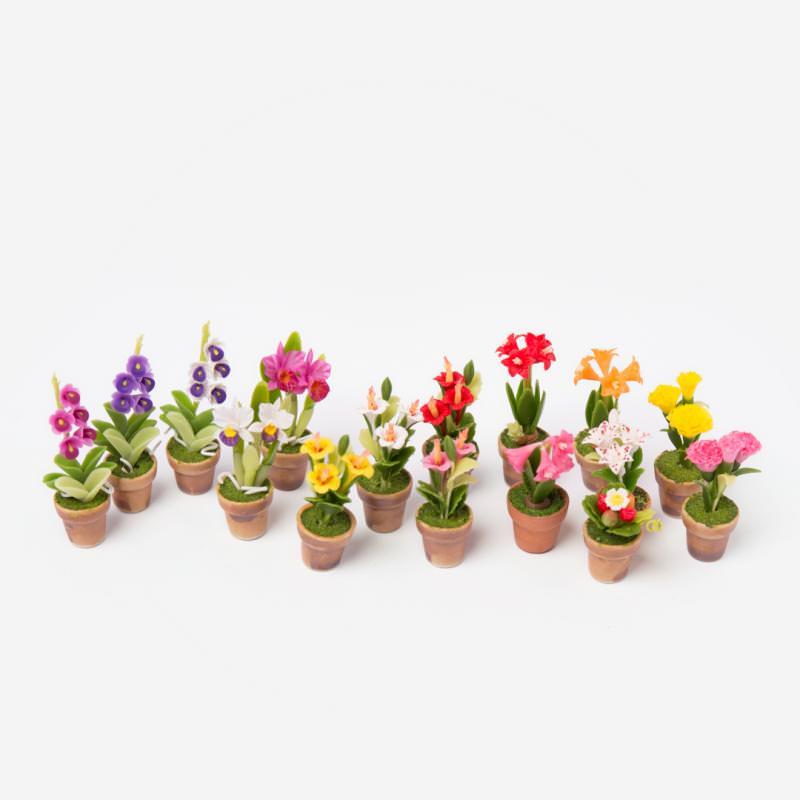 Puppenhaus Blumentopf