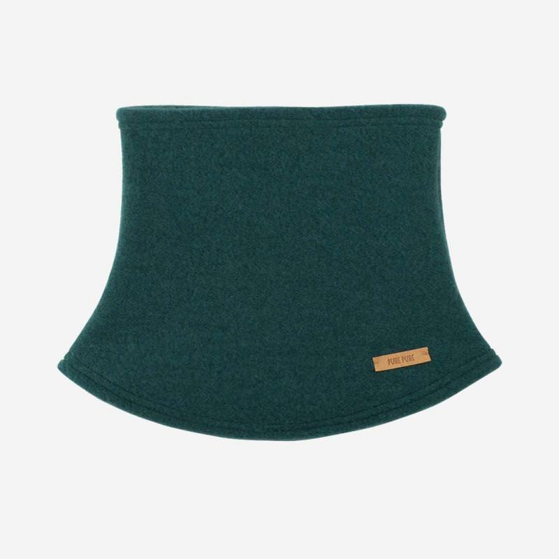 Mini-Schlupfschal Fleece smoke green