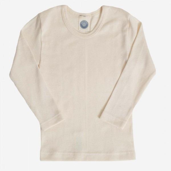Unterhemd Baumwolle natur