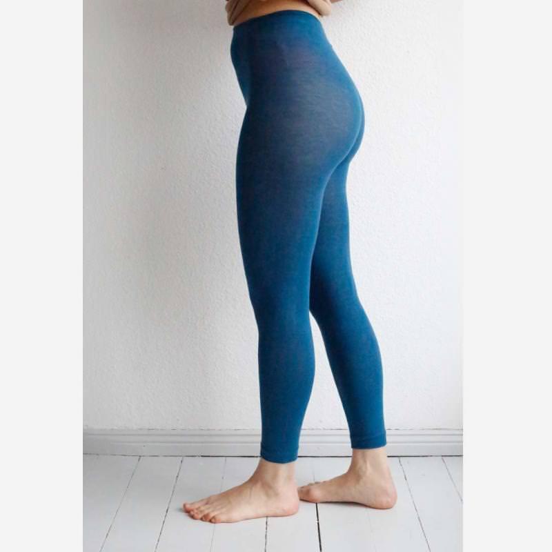 Damen Legging fein Baumwolle